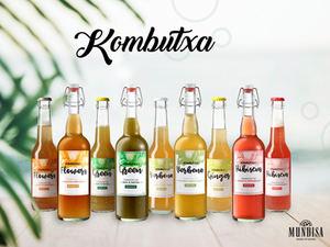 Kombutxa, la bebida de la inmortalidad, ya está disponible a través de Mundisa
