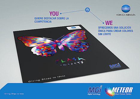 Konica Minolta presenta MGI METEOR Unlimited Colors