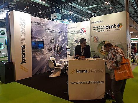Kromschroeder presenta novedosas soluciones para proyectos de alta eficiencia energética y de economía circular en Genera 2019