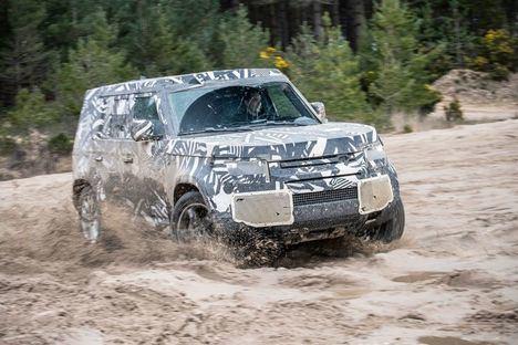 El nuevo Land Rover Defender realiza 1,2 millones de kilómetros