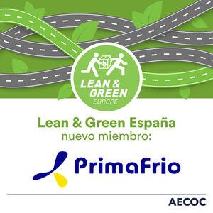 Grupo Primafrio se suma a la iniciativa internacional Lean & Green por una logística sostenible