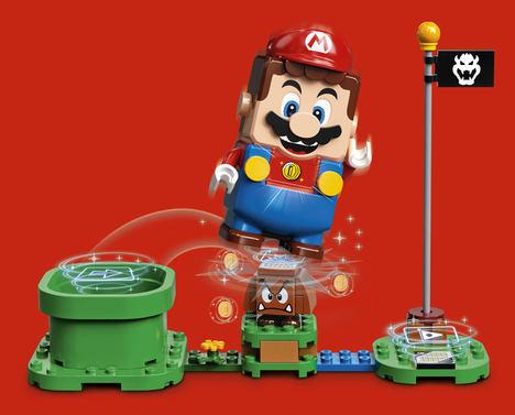 El Grupo LEGO® y Nintendo se alían para impulsar la construcción con ladrillos a un nivel legendario