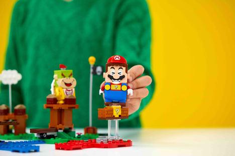 El Grupo LEGO y Nintendo presentan los primeros sets de LEGO® Super Mario™ y abren la venta anticipada