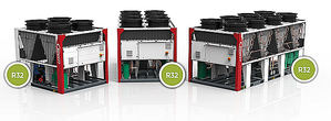 Las enfriadoras scroll con inverter eCOMFORT de Lennox ofrecen eficiencia máxima en aplicaciones de refrigeración de confort y procesos industriales