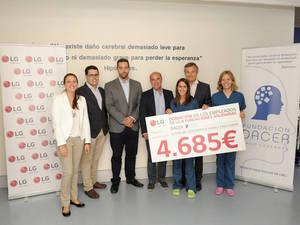LG, con la Fundación Dacer, en la asistencia a personas con daño cerebral y sus familiares