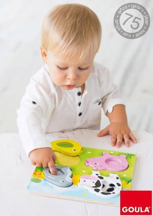 Diset celebra el 75 aniversario de su marca Goula, especializada en juguetes de madera