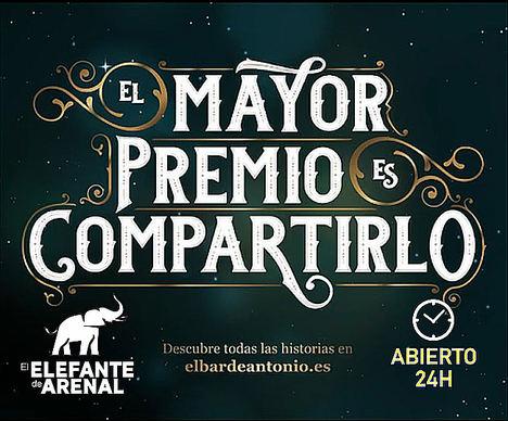 La Administración de Lotería de Arenal 16, abierta 24 horas para el Sorteo de Navidad