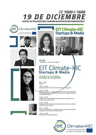La Advanced Leadership Foundation y RTVE, protagonistas del I EIT Climate Kic Startups & Media