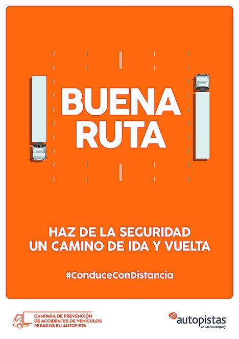 La Bendita Agencia crea la campaña ¡BUENA RUTA! para Abertis Autopistas