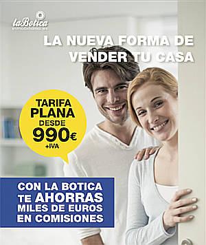 La Botica, la 1ª inmobiliaria low cost en España