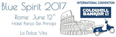 La Coldwell Banker Blue Spirit aterriza en Roma hoy 12 de Junio