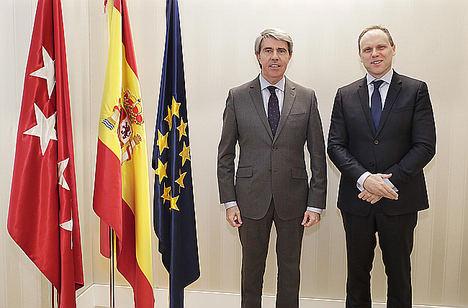 Ángel Garrido y Daniel Lacalle.
