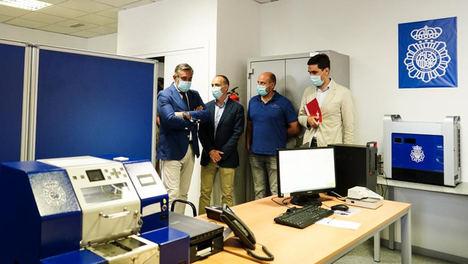 La Comunidad de Madrid reconoce el trabajo de los vigilantes de las 66 sedes judiciales durante la pandemia y la borrasca Filomena