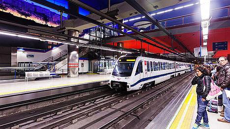 La Comunidad de Madrid fija unos servicios mínimos del 57% en el servicio de trenes para los paros convocados este sábado, 25 de mayo