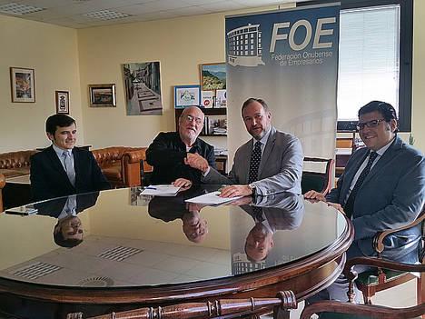 La FOE firma un convenio de colaboración con la Academia Andaluza de Gastronomía y Turismo para potenciar la capitalidad de Huelva