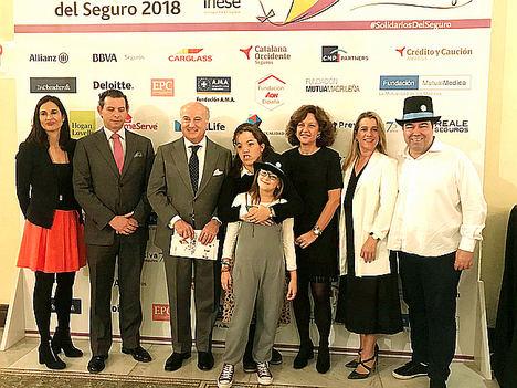 """La Fundación Aon premia al proyecto """"La Azotea Azul"""" de la Fundación El Gancho en los XVIII Premios Solidarios del Seguro"""