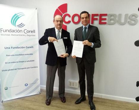 La Fundación Corell y CONFEBUS firman un convenio de colaboración
