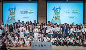 Participantes en la última edición de los premios Ecoinnovación.