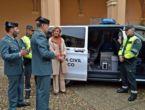 La Guardia Civil en Extremadura incorpora nuevas motocicletas con tecnología de última generación