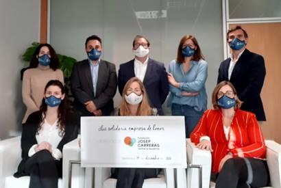 La Luz Solidaria se adhiere como Empresa de Honor a la Fundación Josep Carreras contra la leucemia infantil
