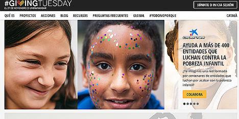 """La Obra Social """"la Caixa"""" se suma a la cuarta edición del #GivingTuesday"""