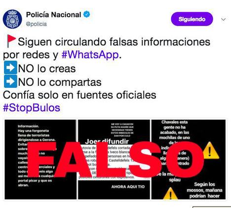 La Policía Nacional española se une a Honduras, Perú, Ecuador y Colombia frente a las noticias falsas y los bulos en la Red
