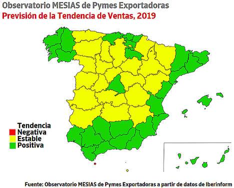 La Rioja y Cantabria lideran el optimismo entre las pymes exportadoras