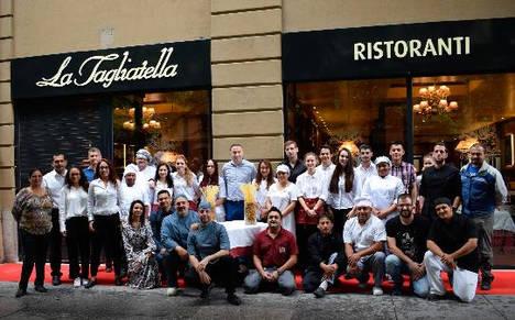 La Tagliatella abre las puertas de su tercer restaurante de Pamplona, a escasos días de la celebración de San Fermín