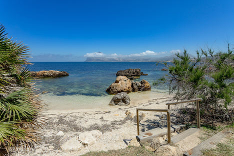 La Tonnara playa.
