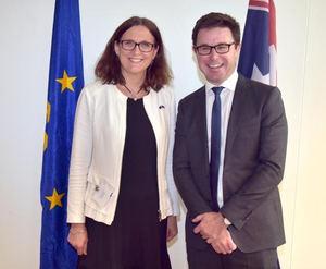 La UE y Australia abren negociaciones para un amplio acuerdo comercial