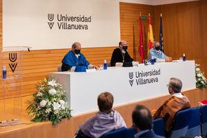 De izda. a dcha.: Javier Fernández del Moral, José María Ortiz Ibarz y Álvaro Niño.