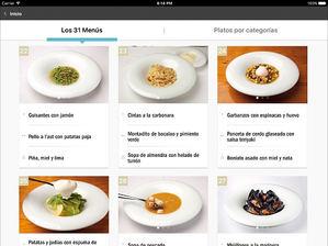 La app Adrià en casa lleva a tu cocina los menús diarios del staff de Elbulli