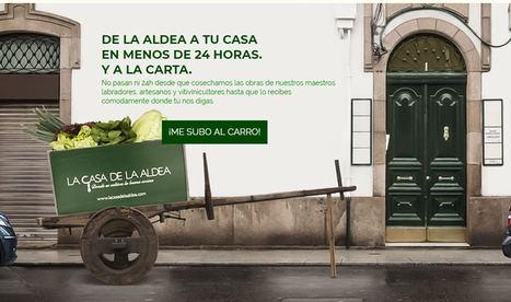 Sabores tradicionales de la aldea en un click para paladares gourmet de toda España