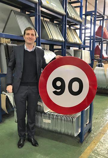 Lacroix Señalización inicia la adaptación de las carreteras al nuevo Real Decreto