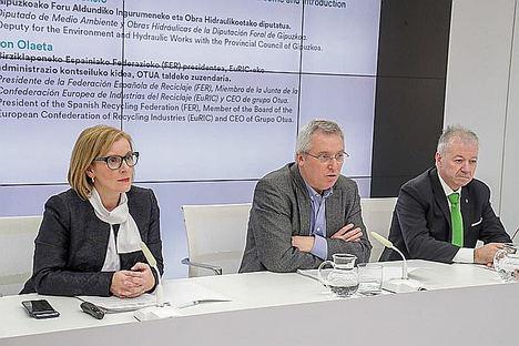 """""""La economía circular supondrá una ventaja competitiva para las empresas recuperadoras de Gipuzkoa"""": Ion Olaeta, presidente de FER"""