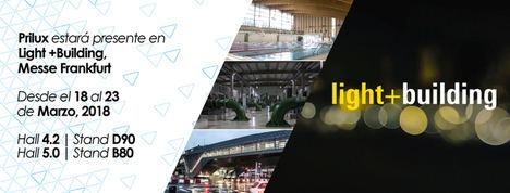 La empresa española Prilux asistirá con dos stands a la feria Light+Building de Alemania