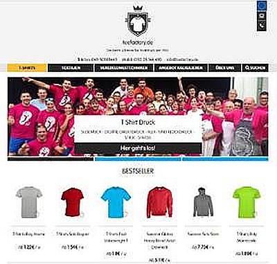 La española Camisetas.info abre mercado en Alemania