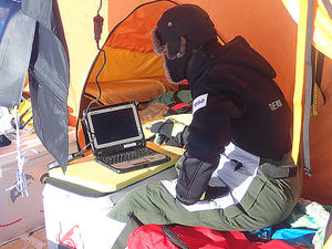 La expedición española Trineo de Viento lleva a Panasonic TOUGHBOOK a la Antártida inexplorada