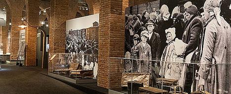 La exposición 'Auschwitz. No hace mucho. No muy lejos' supera el medio millón de visitantes