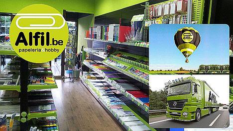 La franquicia de papelerías Alfil.be dispone ya de más de 100 tiendas en España