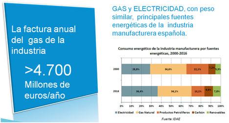 La industria consumidora de gas reivindica la necesidad de peajes armonizados con los del resto de sus competidores europeos