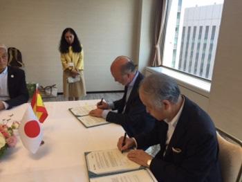 La industria nuclear española intensifica sus relaciones comerciales en Japón