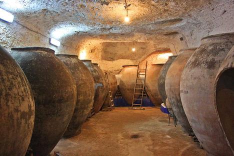 La localidad de Tomelloso, el mayor viñedo del mundo