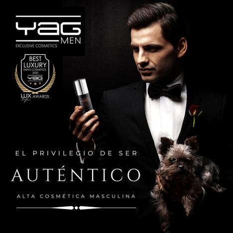 La marca española YAG MEN premiada como mejor cosmética masculina de lujo 2020