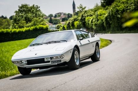 Lamborghini celebra el 50 Aniversario del Urraco