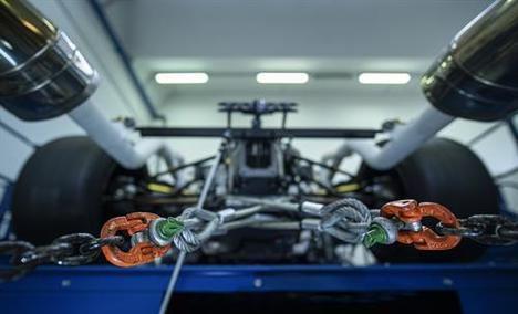 Primera puesta en marcha del motor Hypercar V12 de Lamborghini