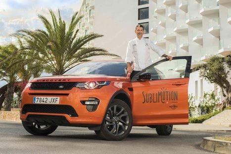 """Land Rover España un año más con """"Sublimotion"""""""