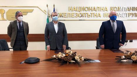 Lantania modernizará la línea ferroviaria Volujak-Petarch en Bulgaria por 47 millones