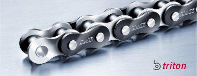 Las nuevas cadenas de rodillos b.triton de alto rendimiento de iwis