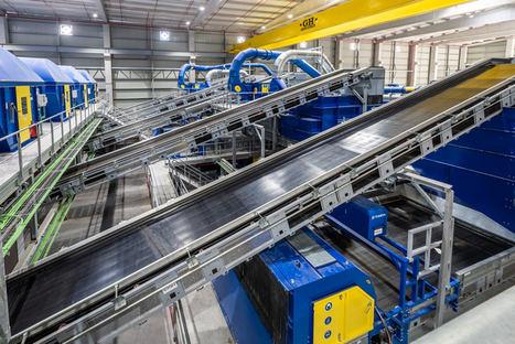 La nueva planta inteligente explotada por Valtalia permite cuadruplicar la producción de material reciclado